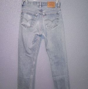 VTG 80's Levi's 501 High Waisted Distressed Jeans